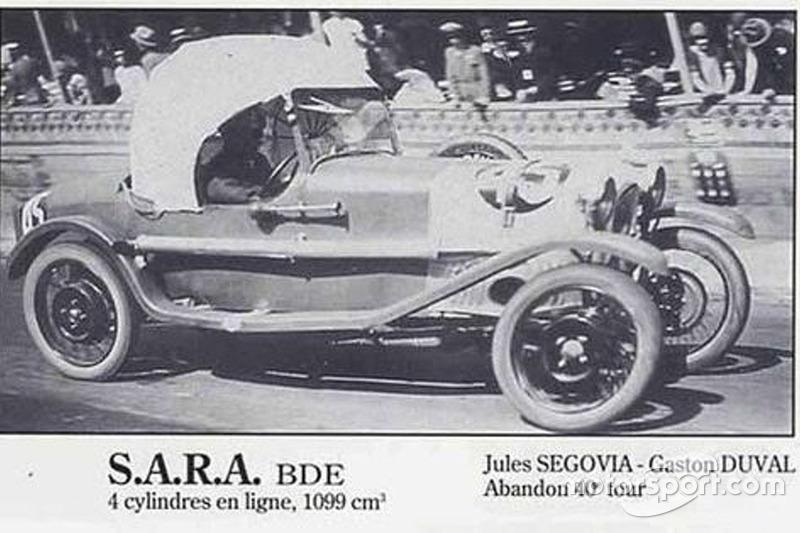 1925: Jules de Segovia