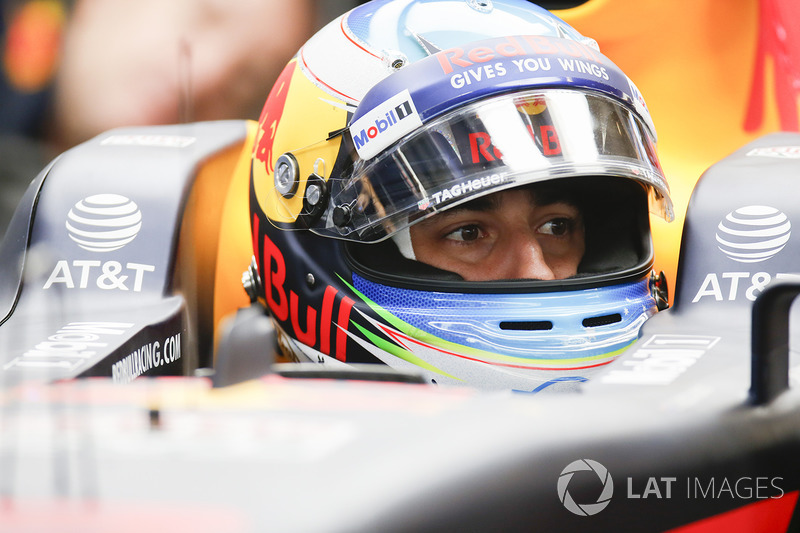 Daniel Ricciardo foi terceiro no GP do México de 2016.