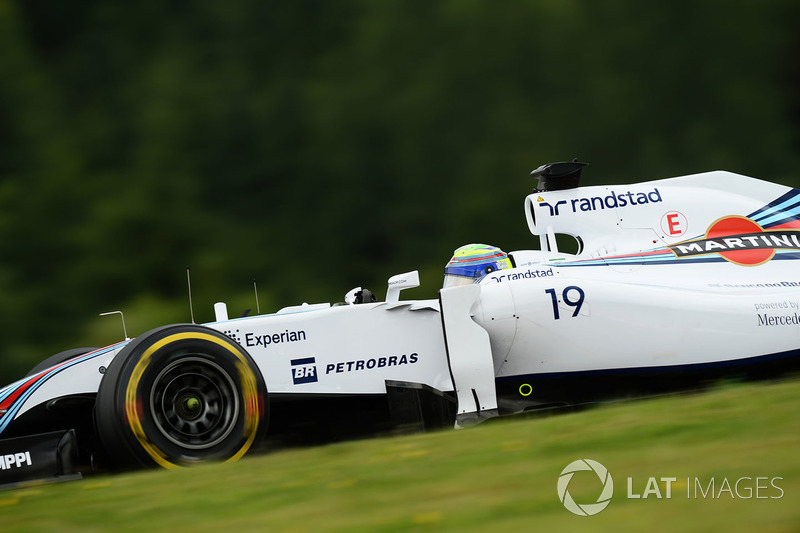 1. Felipe Massa, Williams - GP da Áustria 2014