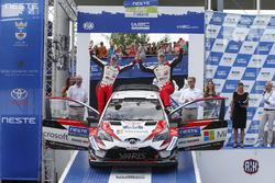Le troisième Jari-Matti Latvala, Miikka Anttila, Toyota Yaris WRC, Toyota Gazoo Racing