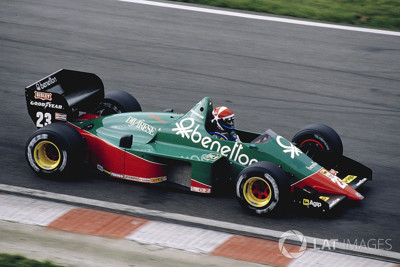 eddie cheever alfa romeo 184t at belgian gp. Black Bedroom Furniture Sets. Home Design Ideas