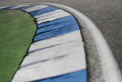 Kerb and track detail