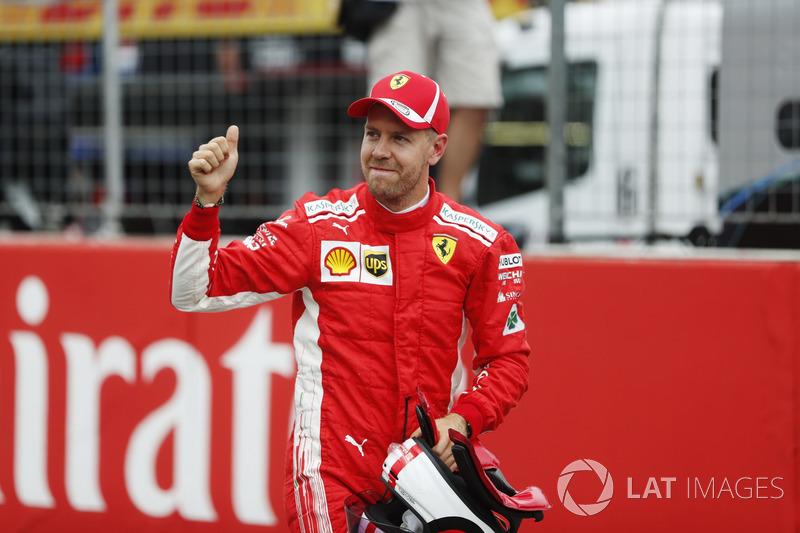 Bevestigd voor 2019: Sebastian Vettel (Duitsland)
