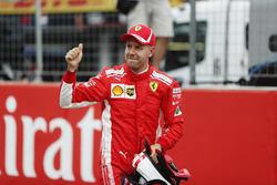 Sebastian Vettel, Ferrari, viert de pole