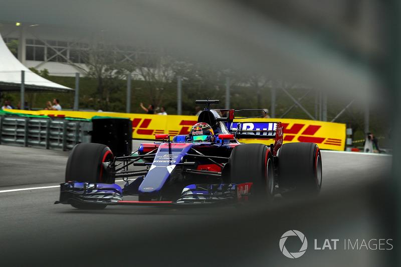 Ausfall: Brendon Hartley, Scuderia Toro Rosso STR12