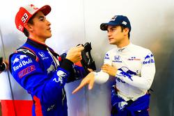 Marc Marquez and Dani Pedrosa, tests the Toro Rosso F1 car