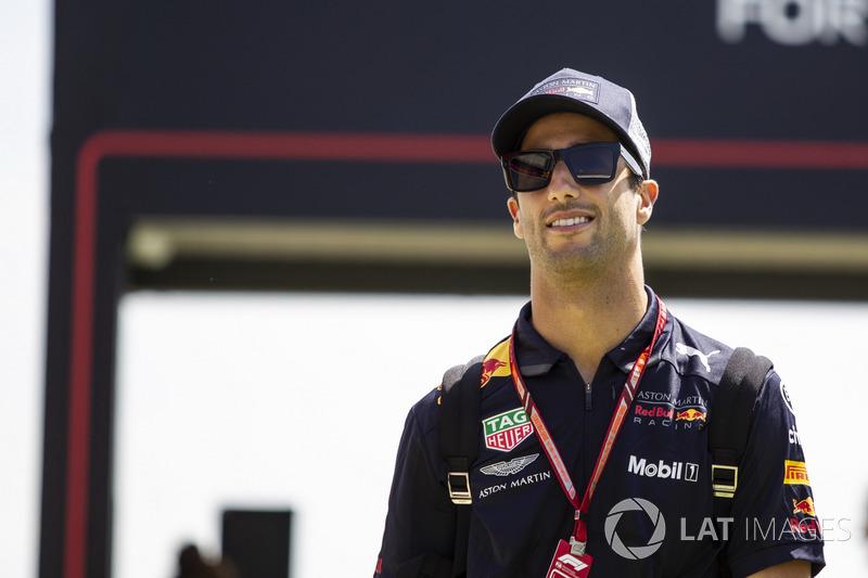 Даниэль Риккардо (2014-2018, на данный момент – 91 Гран При, 7 побед)