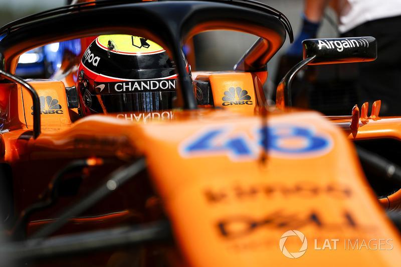 Оливер Тёрви, McLaren MCL33
