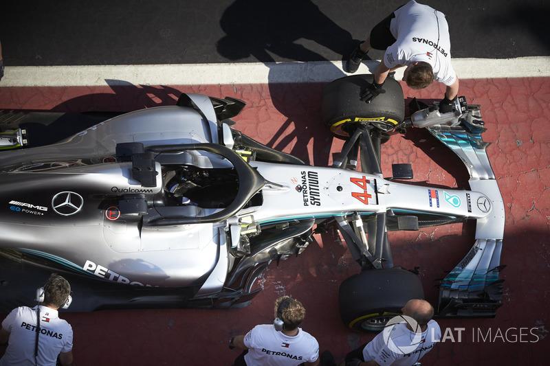 Lewis Hamilton, Mercedes AMG F1 W09 mühendisleri