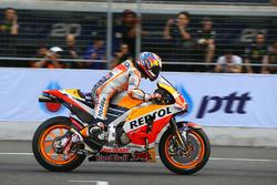Dani Pedrosa, Repsol Honda Team fait un essai de départ