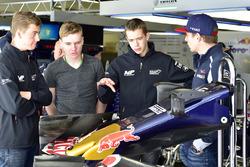 Richard Verschoor met Max Verstappen, Scuderia Toro Rosso