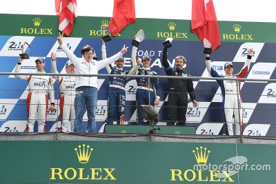 Camino a Le Mans