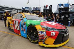 Car of Kyle Busch, Joe Gibbs Racing Toyota