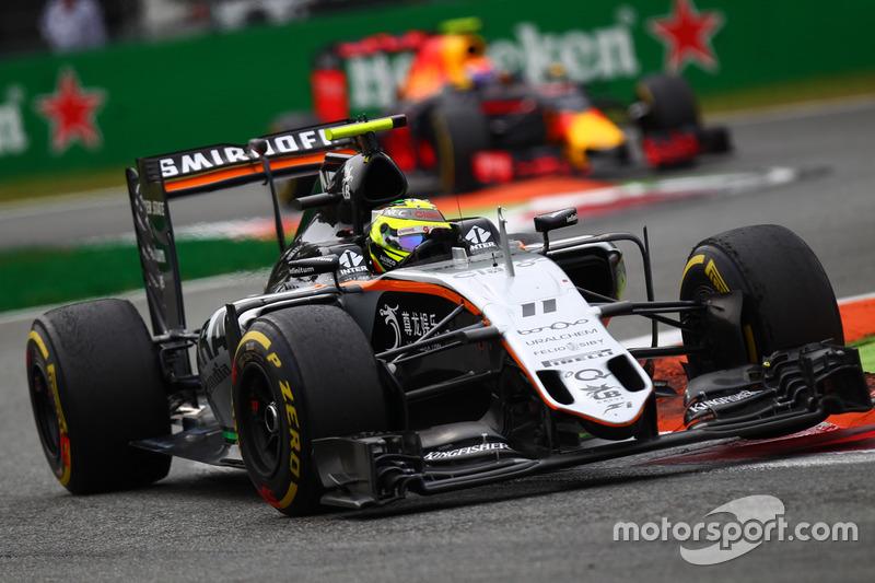 2016: Force India VJM09 Mercedes (два подиума, 4-е место в КК)