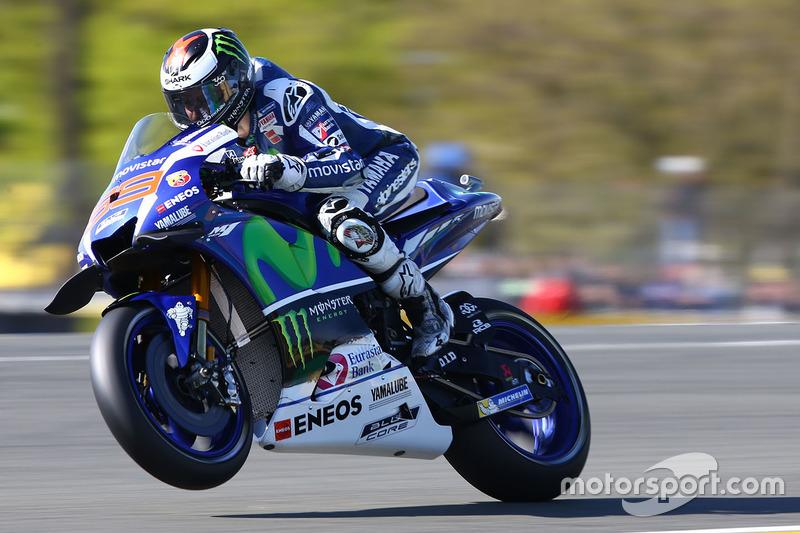 Jorge Lorenzo, Yamaha Factory Racing at Portuguese GP