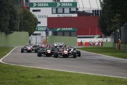 Start: Lance Stroll, Prema Powerteam, Dallara F312, Mercedes-Benz, führt