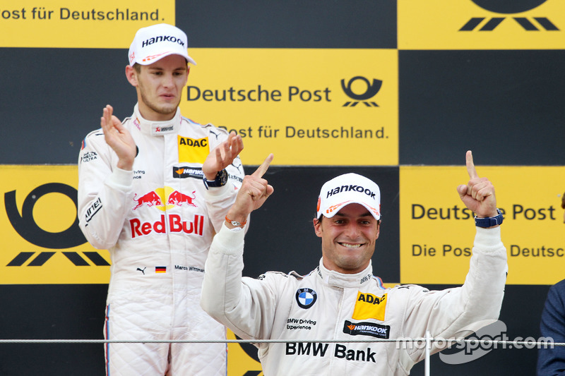 Podio: il terzo classificato Bruno Spengler, BMW Team MTEK, BMW M4 DTM