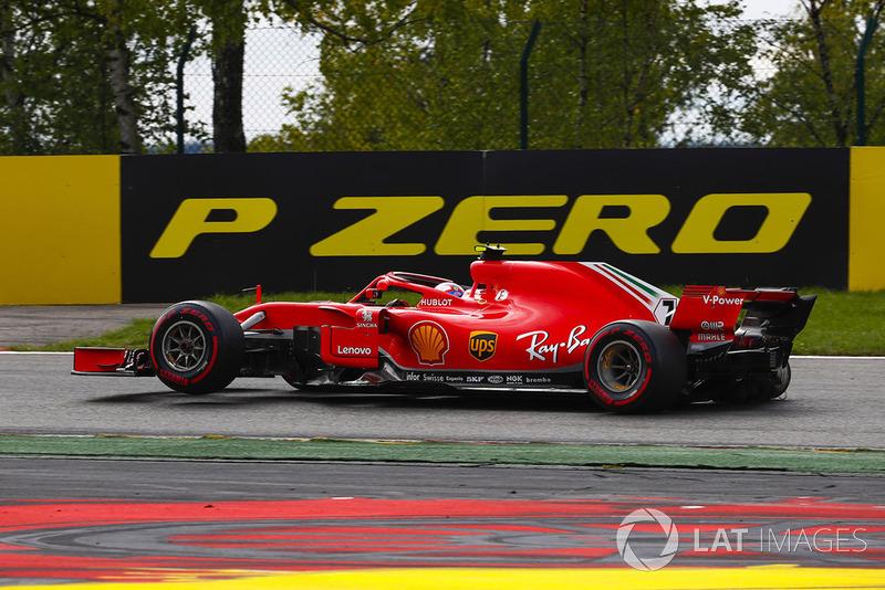 Kimi Raikkonen - Ferrari - 8