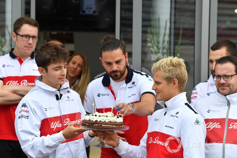 Perayaan ulang tahun ke-28 Marcus Ericsson, Sauber
