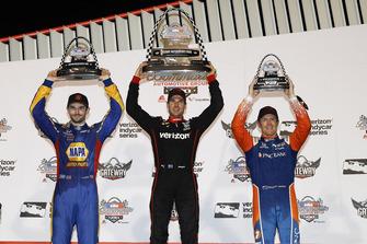 Podium: 1. Will Power, 2. Alexander Rossi, 3. Scott Dixon