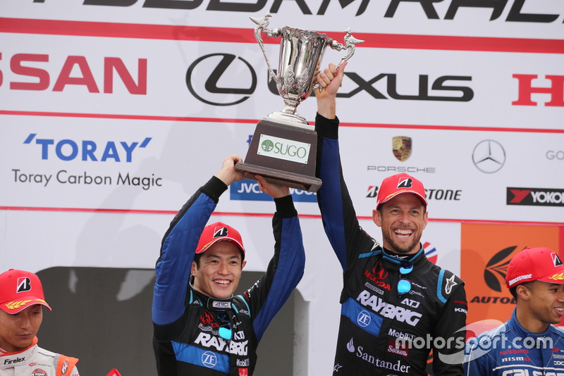 Naoki Yamamoto, Jenson Button, Team Kunimitsu