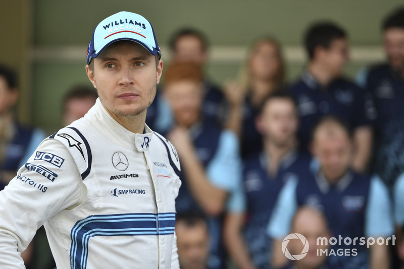 Sergey Sirotkin, Williams Racing at the Williams Racing Team Photo