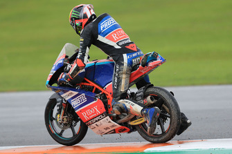Marco Bezzecchi, Prustel GP after crash