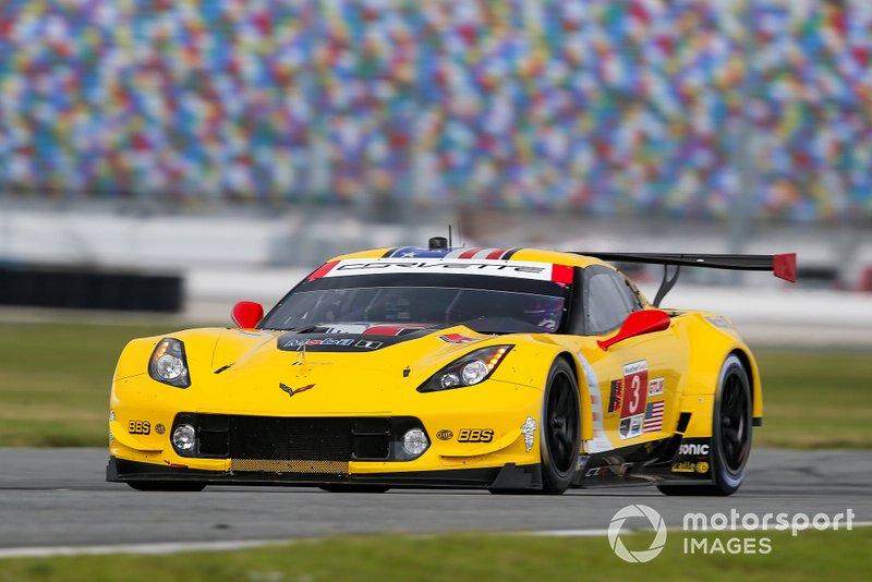#3 Jan Magnussen, Antonio Garcia, Mike Rockenfeller; Corvette Racing, Corvette C7.R (GTLM)
