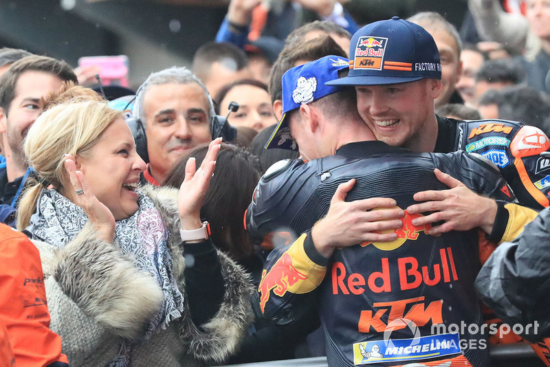 Третє місце Пол Еспаргаро, Бредлі Сміт, Red Bull KTM Factory Racing