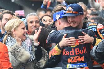 Il terzo classificato Pol Espargaro, Red Bull KTM Factory Racing, Bradley Smith, Red Bull KTM Factory Racing