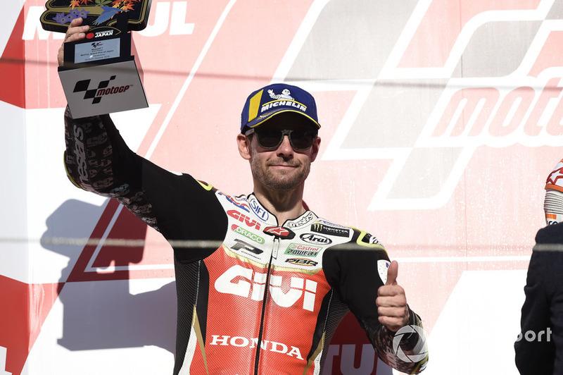 Podium: Cal Crutchlow, Team LCR Honda