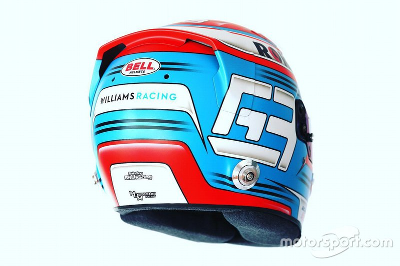 Il casco di George Russell, Williams