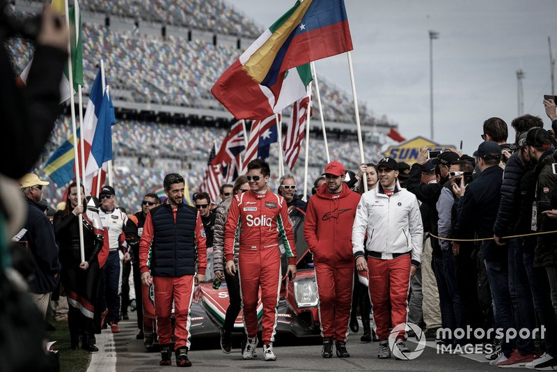 #18 DragonSpeed ORECA LMP2, LMP2: Roberto Gonzalez, Sebastian Saavedra, Pedro Maldonado, Ryan Cullen