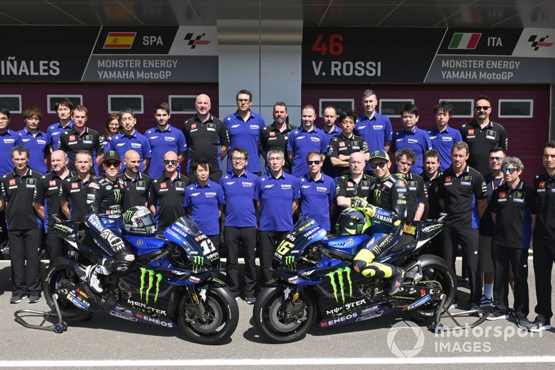 Team Monster Yamaha, Maverick Vinales, Yamaha Factory Racing, Valentino Rossi, Yamaha Factory Racing