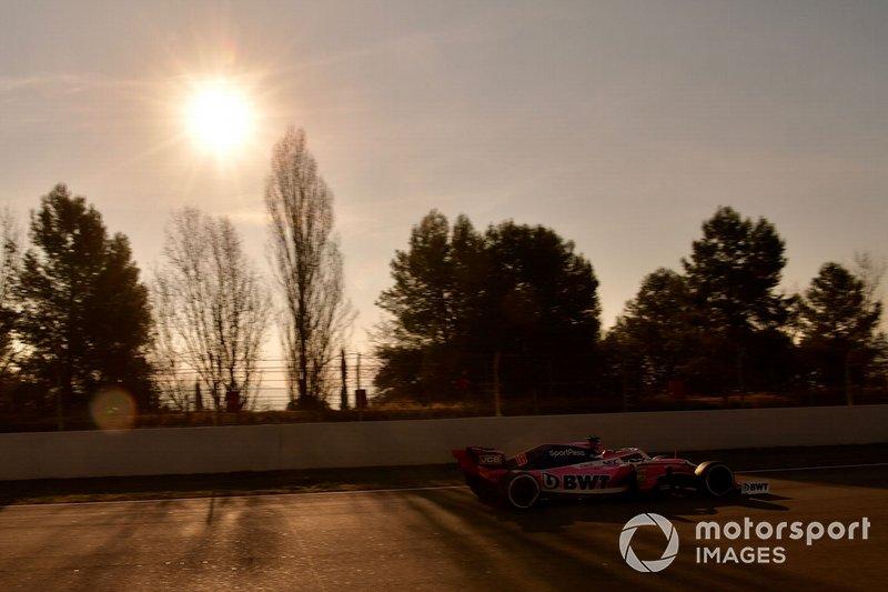 Ленс Стролл, Racing Point F1 Team RP19