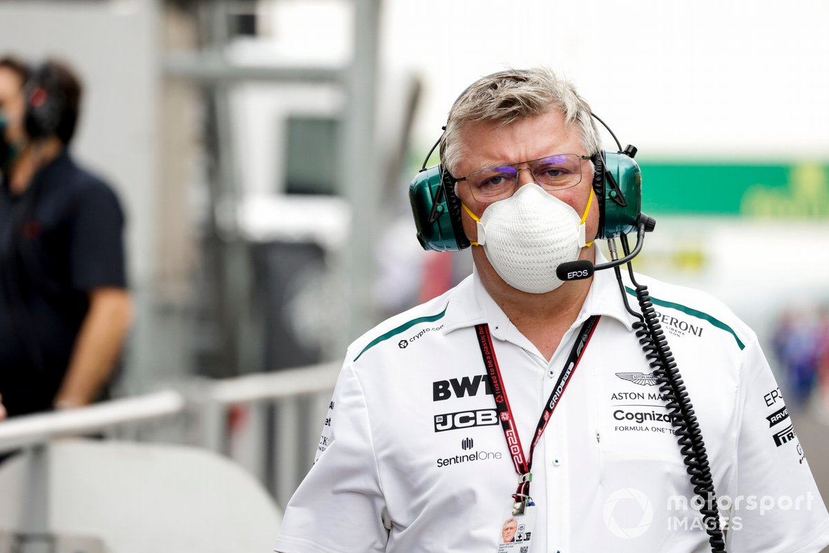 Szafnauer had to negotiate with the FIA on his team's behalf, with senior engineers at the airport