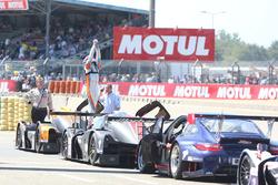 Les vainqueurs #3 DKR Engineering Norma M30 - Nissan: Jean Glorieux, Alexander Toril