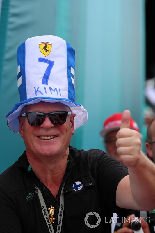 Уболівальник Кімі Райкконена, Ferrari