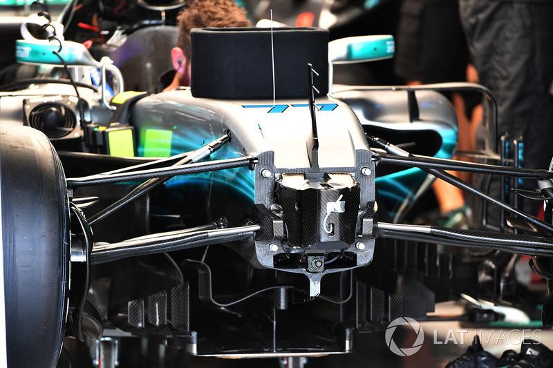Шасі та передня підвіска Mercedes-Benz F1 W08