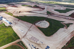 The Bend Motorsport Park construction