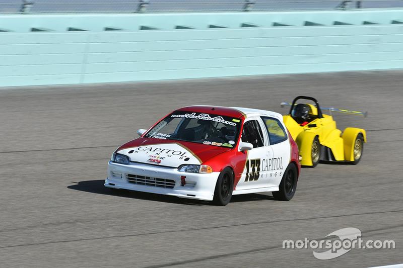 #133 MP4C Honda Civic driven by Juan Paulino of J&A Motorsports