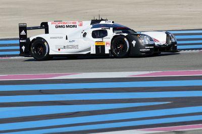 Porsche-Test in Le Castellet, März