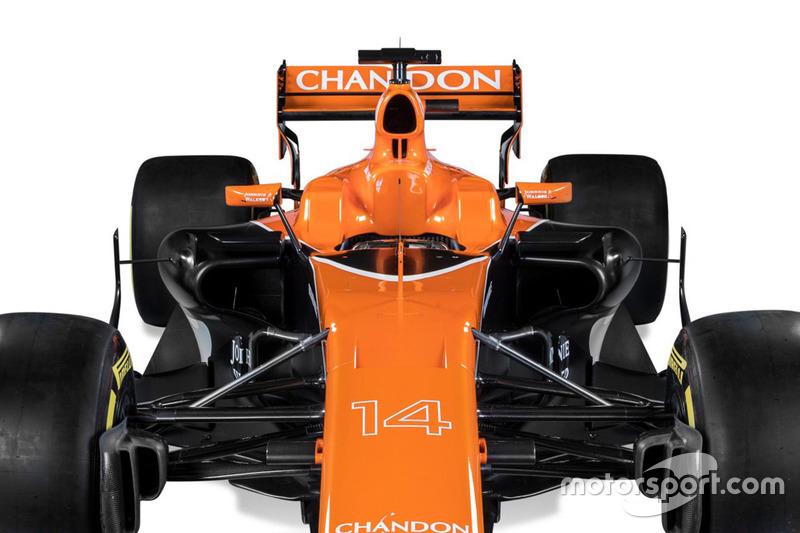 McLaren MCL32 detail