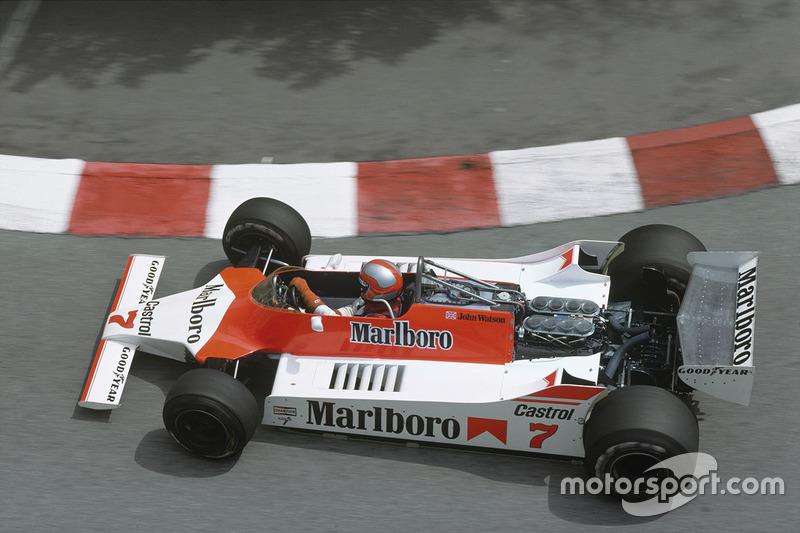 John Watson, McLaren-Cosworth M29C-Ford
