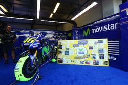 The bike of Valentino Rossi, Yamaha Factory Racing