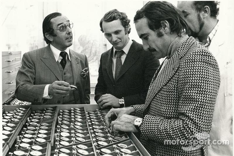Niki Lauda y Clay Regazzoni