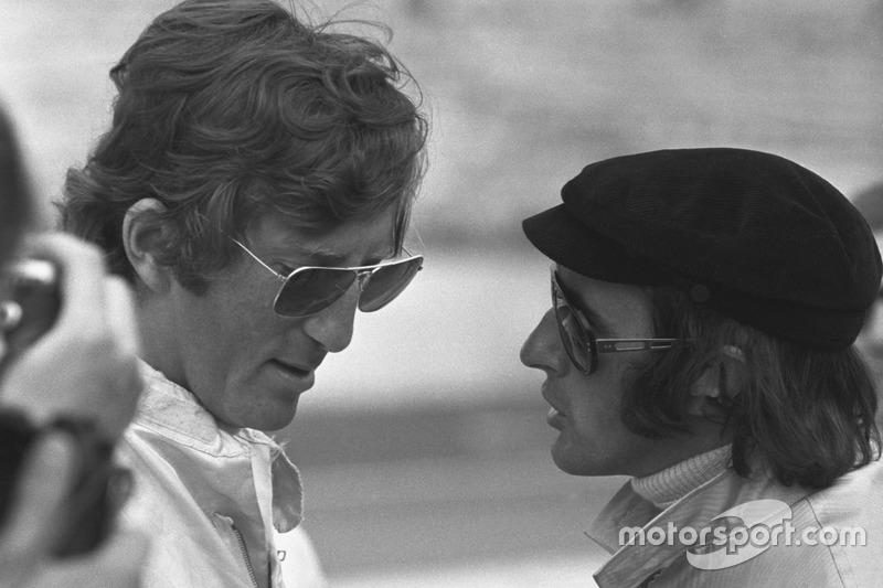 Jochen Rindt, nascido na Alemanha, representou a Áustria durante a carreira e na F1, quando correu contra pilotos como Jackie Stewart, a estreia aconteceu em 1964 - no GP da Áustria, quando abandonou.