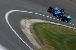Juan Pablo Montoya testing the 2018 Chevrolet IndyCar