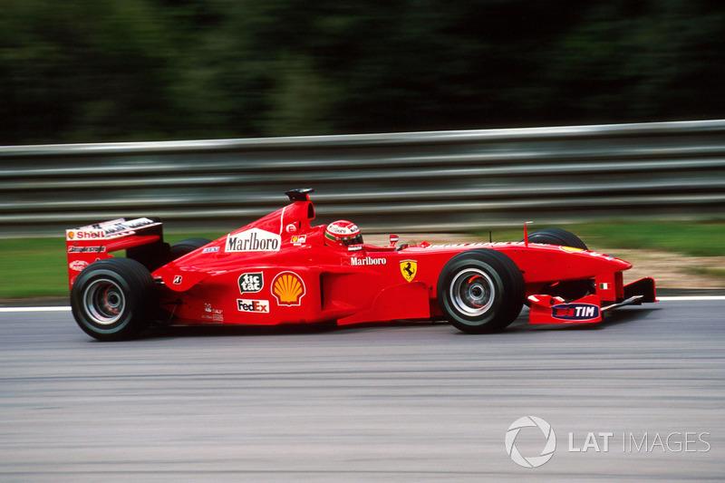Eddie Irvine - 4 galibiyet