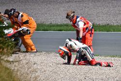 Tony Arbolino, SIC58 Squadra Corse crash